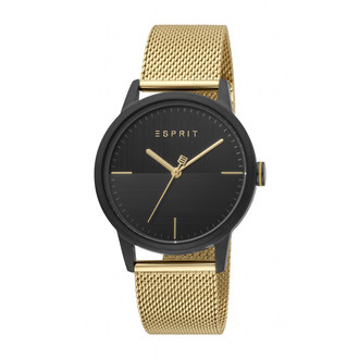 ESPRIT Classy Black Gold Mesh ES1G109M0105